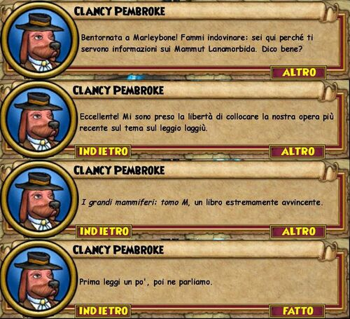 Clancy unlavmammut