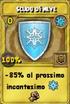 Scudo di neve oro