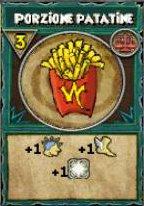 Porzione di patatine
