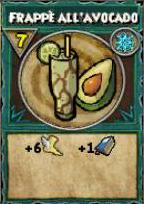 Frappè all'avocado