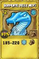 Serpente delle nevi oro