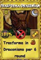 Trasforma draconiano oro