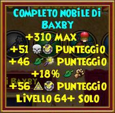 Completo nobile di baxby stat