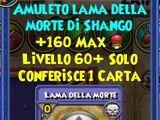 Amuleto Lama della Morte di Shango