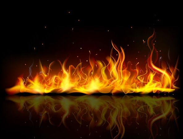 Image flame background banner vector materialg wizard101 flame background banner vector materialg voltagebd Images