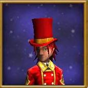 Hat Top Hat of Bottled Anger Male