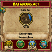 Balancing Act - KrokotopiaQuests