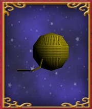 Ball of Yellow Yarn