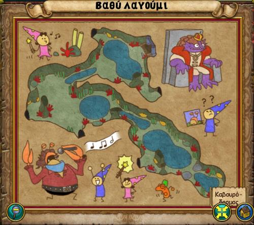 Χάρτης Βαθύ Λαγούμι