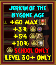 Robe - Jerkin of the Bygone Age