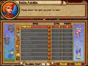 Dalia Falmea Trainable Spells