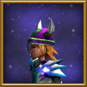 Hat GH Horned Helm of Bravery Male