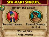 Sew Many Shrouds...