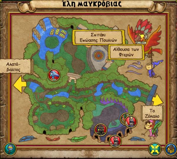 Χάρτης Έλη Μαγκρόβιας