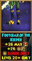 Footgear of the Keeper