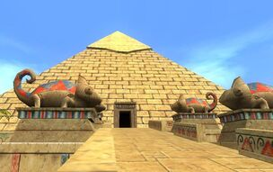 Pyramid of the Sun view