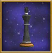 Black King Chesspiece