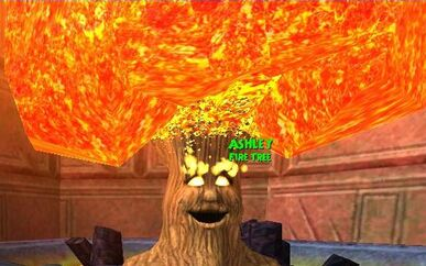 NPC DS Ashley the Dragonspyre Academy Fire Tree