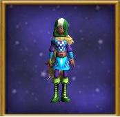 Robe Wyrdtamer's Armor Female