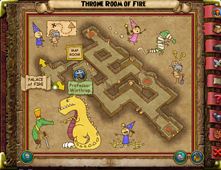 Throne Room of Fire Map