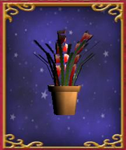 Potted Flower Arrangement