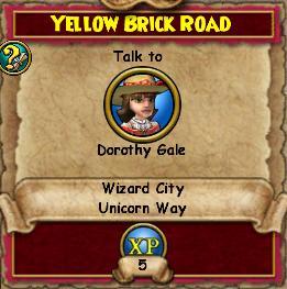 YellowBrickRoad-WizardCityQuests