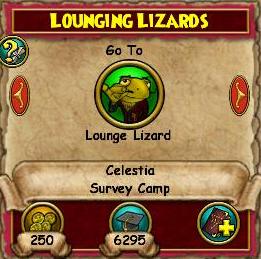 Lounging Lizards