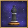 Black Bishop Chesspiece