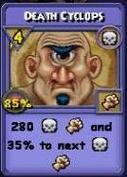 Death Cyclops Item Card