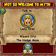 Not so Welcome to Myth 5