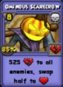 Omninous Scarecrow Item Card