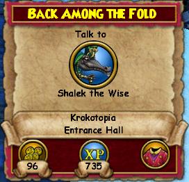 Back Among The Fold