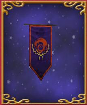 Purple Dragonspyre Banner