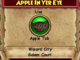 Apple in Yer Eye