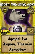 Αφαίρεση Πολικής Αρκούδας