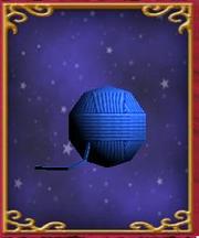 Ball of Blue Yarn