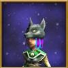 Hat Wolf Cowl Female