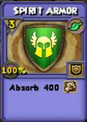 Spirit Armor Item Card Variation
