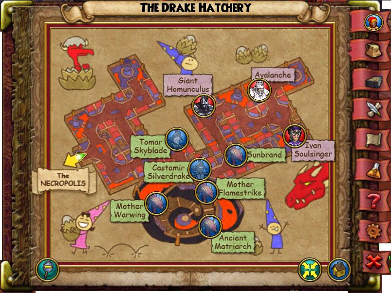 Map drake hatchery