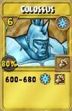 Colossus Treasure Card