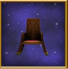 Square-Backed Chair
