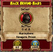 Back Behind Bars