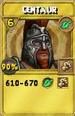 Centaur Treasure Card