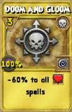 Doom and Gloom Treasure Card
