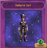 Valkyrie Set Robe of the Deep