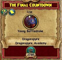 The Final Countdown Part 1