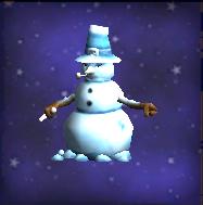 Grumpy Snowman
