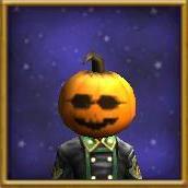 Hat WC Cool Pumpkin Mask