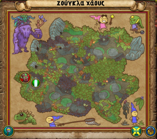 Χάρτης Ζούγκλα Χάους