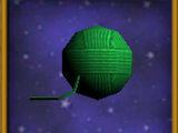 Ball of Green Yarn